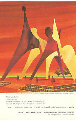 1967 The International Nickel Co. Monument At Expo 67 Original Ad