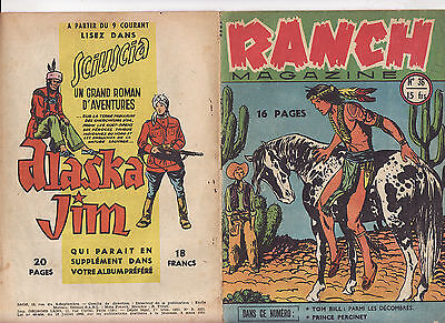 RANCH MAGAZINE N°36 mars 1951 SAGE