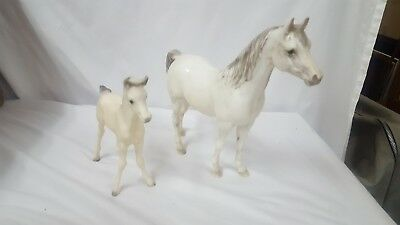 Breyer Horse Arabian Mare & Foal Old Mold