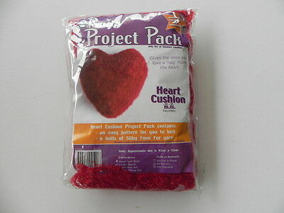 Panda Project Pack - Heart Cushion