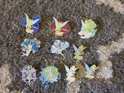 Disney pins Tinker Bell Lot of 10