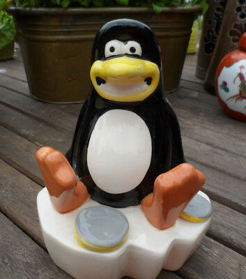 Pingo Penguin Money Box Lovely Condition. Christmas Is Coming. 15 Cm Tall