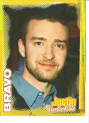 Justin Timberlake, Great Full Page Pinup, Foreign Magazine