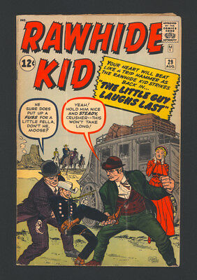 """RAWHIDE KID #29 """"1962"""". Features Cover and 3 Stories of Artwork by JACK KIRBY!"""