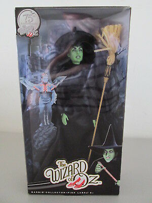 Wizard of Oz -75th Anniversary Collectible Doll - Wicked Witch Of The West - NIB