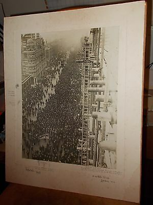 Important historical photo of march against licencing bill 1908