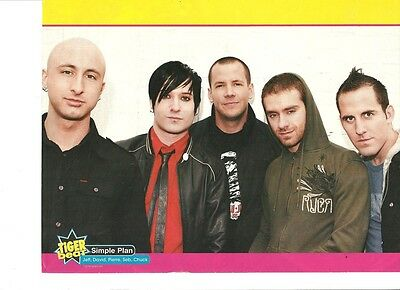 Simple Plan, Full Page Pinup