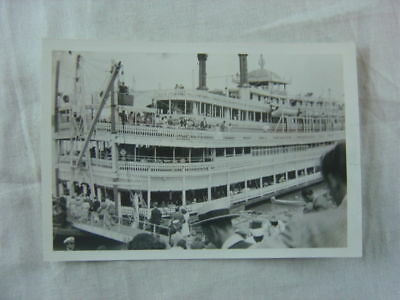 Vintage 1930s Photo River Boat Capitol in St Louis 811