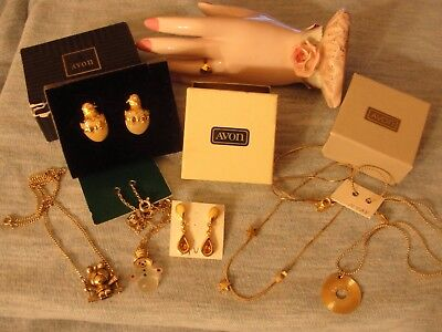 Avon Excellent Lot Of Necklaces And Earrings Cute Lot Snowman Chicks Stars