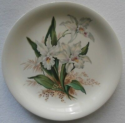 ORCHID DINNER PLATE by GRINDLEY, England - VINTAGE LOOK!