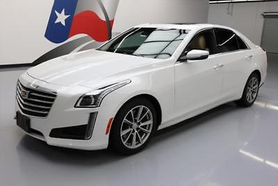 2017 Cadillac CTS  2017 CADILLAC CTS 3.6 LUX PANO SUNROOF NAV REAR CAM 22K #142455 Texas Direct