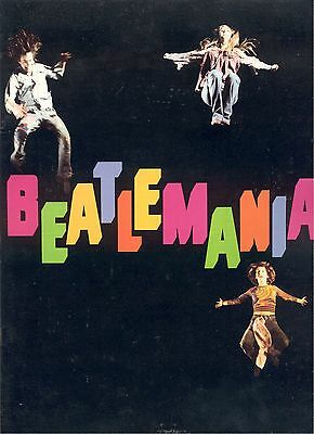 Program Beatlemania Raydell Publishing & Distributing Corp Printed In U.s.a.
