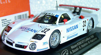 Slot It Sica14A Nissan R390 Gt1 Le Mans 1/32 Slot Car In Display Case