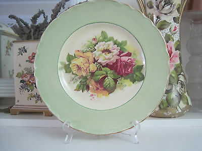 Gorgeous Royal Staffordshire Pottery Large Roses Display Plate