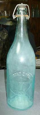 MINNESOTA MINERAL WATER BOTTLE-Diamond Spring-St.Cloud & Princeton-1890s