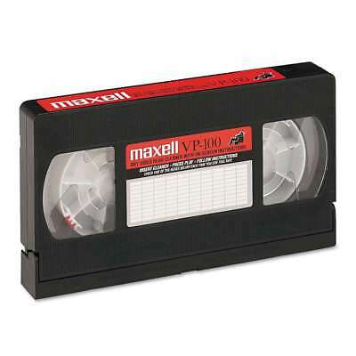 Maxell® Cleaning VHS Tape Cartridge 025215290053