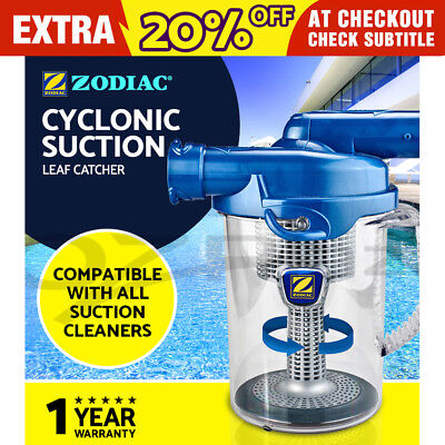 Zodiac Cyclonic Leaf Catcher Canister Suction Vacuum Swimming Pool Cleaner