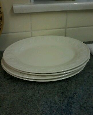 Bhs Lincoln/barratts Oval Steak Plates X 4 Great