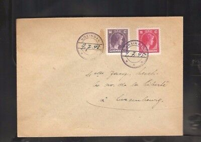 008  Luxembourg from Treasure  Kautschuk cancelation with date rare only Rare