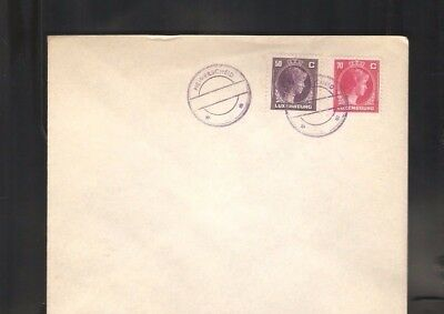 010  Luxembourg from Treasure  Kautschuk cancelation without date rare only Rare