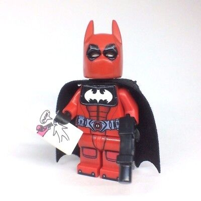 ! PREORDER ! LEGO Custom Batpool Deadpool  / Batman DC Comics Minifigure PRINTED