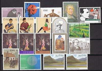 Ireland Commemorative Sets (5) Mint Never Hinged