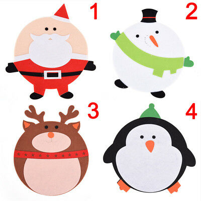 Christmas Cartoon Decorations Mouse Pads Mat Christmas Gifts For Laptop FG