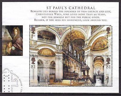 Gb 2008 Cathedrals S/s (22) Used