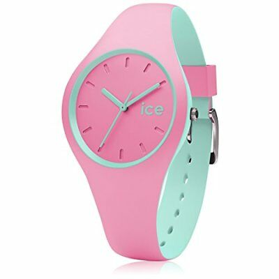 3335385 Ice Watch Duo Pink Mint Orologio Da Polso, Quadrante Analogico Da Donna,