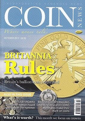 October  2017 coin news magazine NEW publication