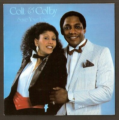 """Colt & Colby -  Save your love  7"""" vinyl 1984"""