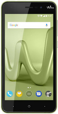 Wiko lenny 4 lime Smartphone 5 Zoll dual SIM mit Android 7.0