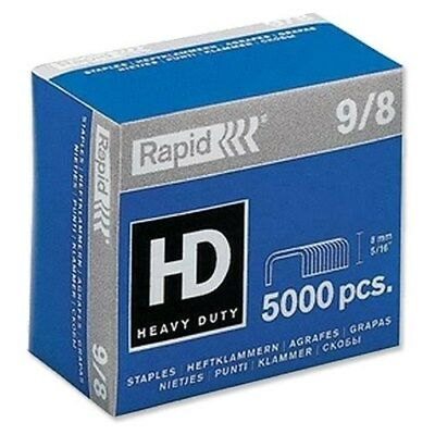 Rapid 9/8 Staples R9 and R49 8mm shank length (Pack 5000) P5PN#
