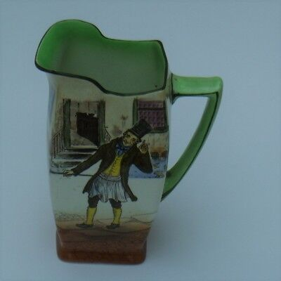 """ROYAL DOULTON DICKENS WARE """"TROTTY VECK D2973"""" JUG Signed Noke C1908"""