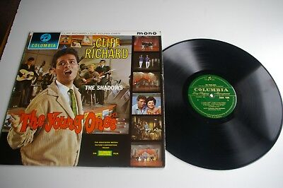 CLIFF RICHARD AND THE SHADOWS / THE YOUNG YOUNGS   LP  1st PRESS  MONO
