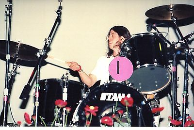 Nirvana Dave Grohl 2 - 4X6 Color Concert Photo Set #10A