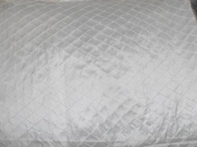 SILK DUPIONI ivory pintuck design-53 inches wide