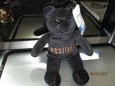 NWT Rare Collectable WESTLIFE Teddy Bear/Beanie style