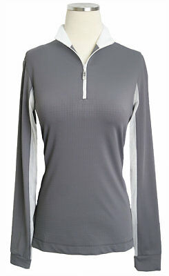 Equi in Style Cool Shirt - Grey/White - All Sizes