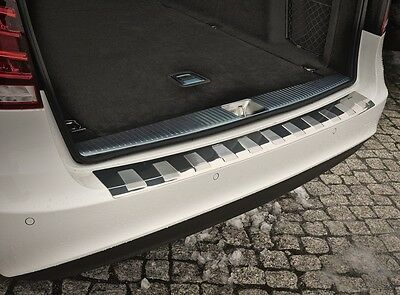 MB E-Class W212 ESTATE from 2013- Stainless Steel Boot Edge Protector Satin with