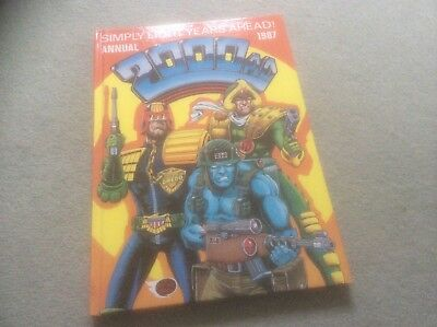 2000AD Annual 1987 * Hand Signed *