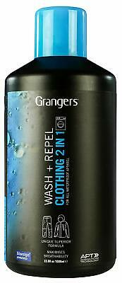 Grangers Clothing Wash + Repel 1 Litre Formulated To Clean & Restore Waterproof