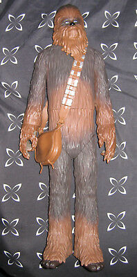 "STAR WARS Huge CHEWIE CHEWBACCA 20"" Inch Tall Action Figure Toy Lucasfilm Movie"