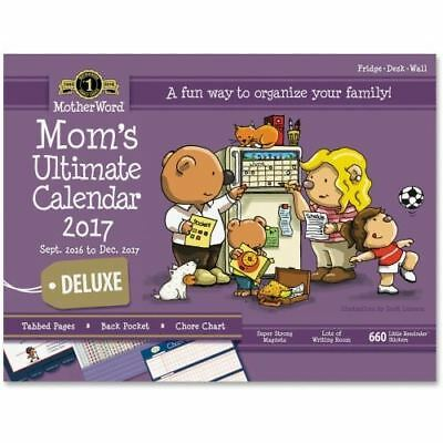 At-A-Glance MotherWord Mom's Calendar Deluxe MWFC0128