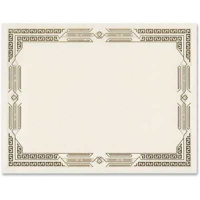 First Base Linen Certificates with Foil 83419
