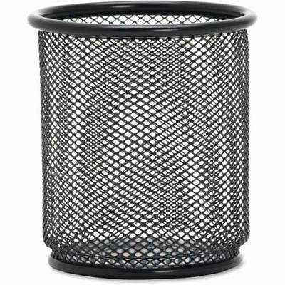 Lorell Black Mesh/Wire Pencil Cup Holder 84149