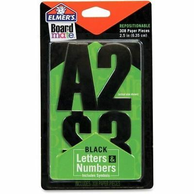 Elmer's Black Letters Numbers and Symbols Stickers E3069MQ