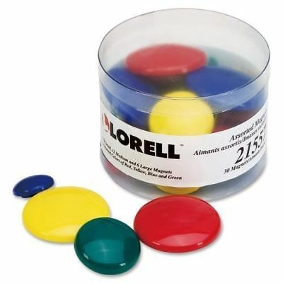 Lorell Tub of Assorted Magnet 21557