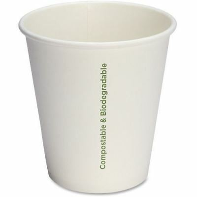 Genuine Joe Compostable Paper Hot Cups 10214