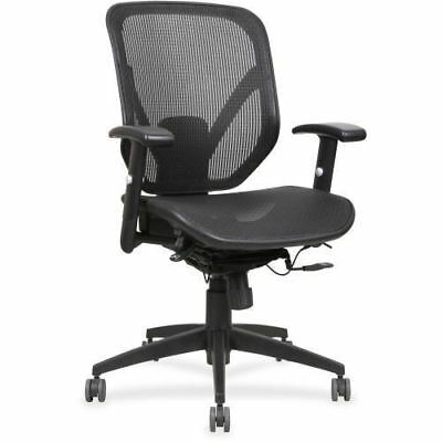 Lorell Mesh Seat/Back Mid-back Chair 40203